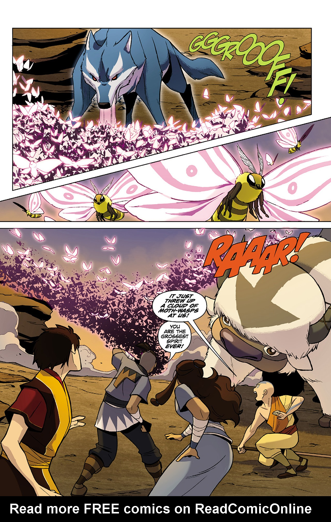 Read online Nickelodeon Avatar: The Last Airbender - The Search comic -  Issue # Part 1 - 69