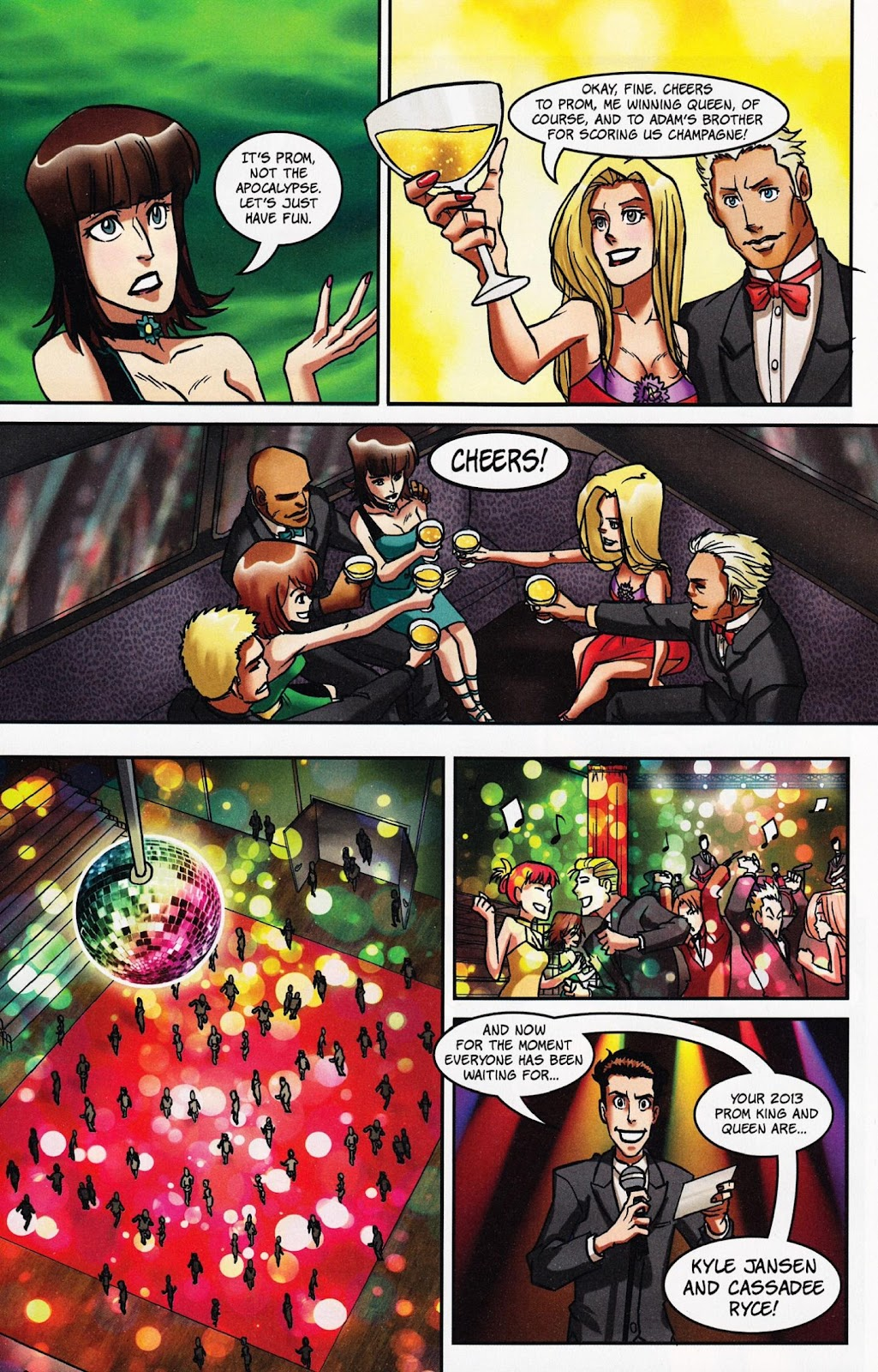 Zombies vs Cheerleaders Issue #1 Page 27