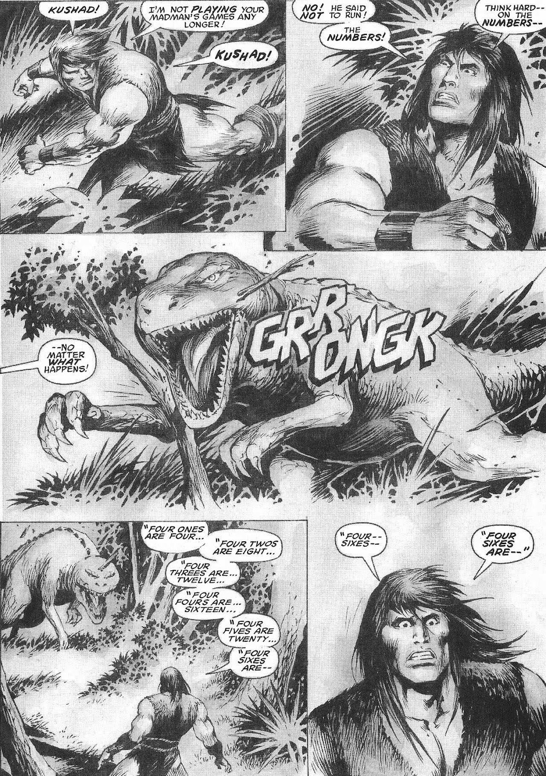 The Savage Sword Of Conan Issue #207 #208 - English 42