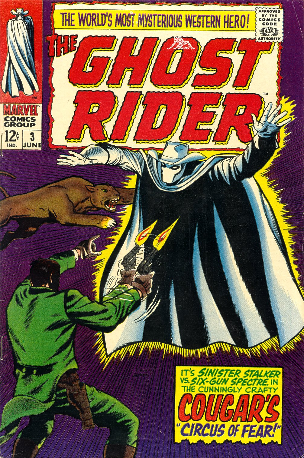 The Ghost Rider Issue #3 #3 - English 1