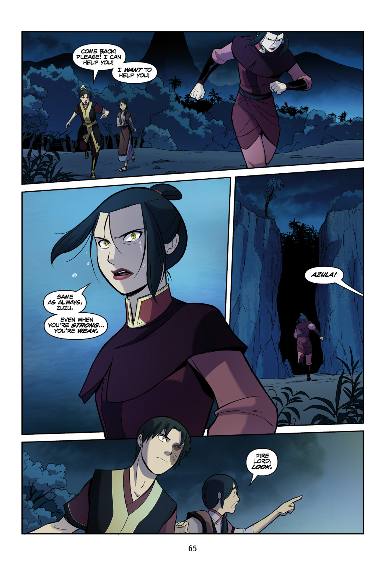 Read online Nickelodeon Avatar: The Last Airbender - The Search comic -  Issue # Part 3 - 66