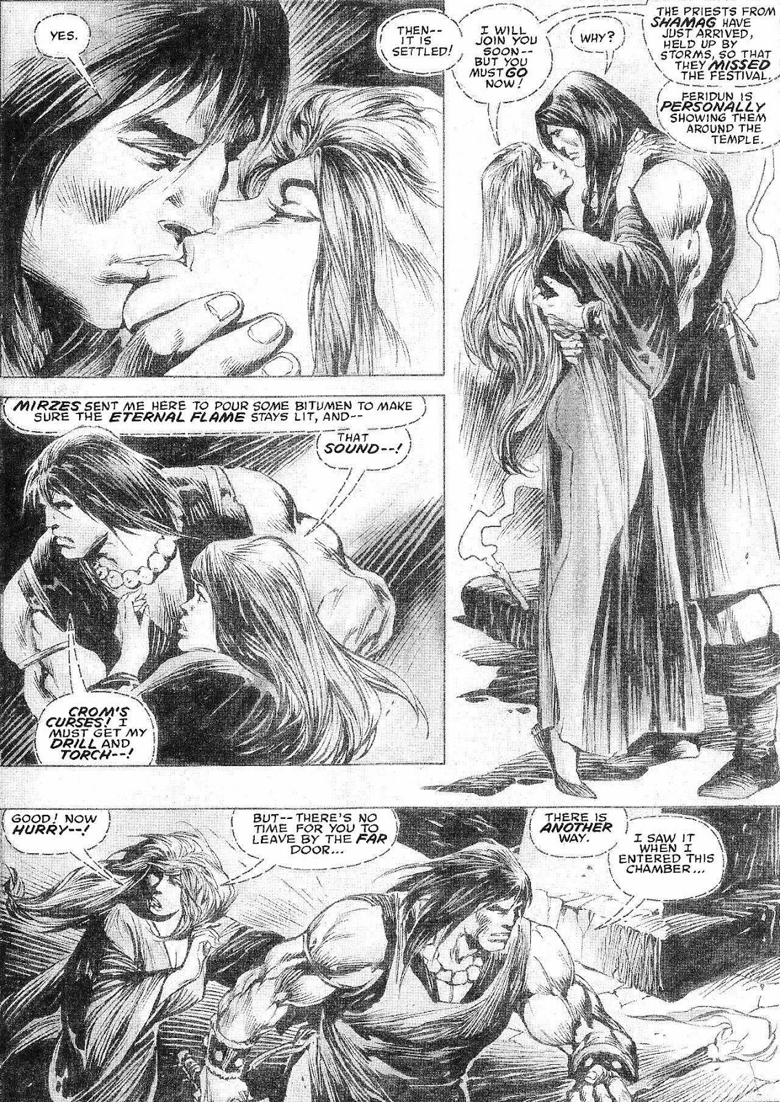 The Savage Sword Of Conan Issue #210 #211 - English 17