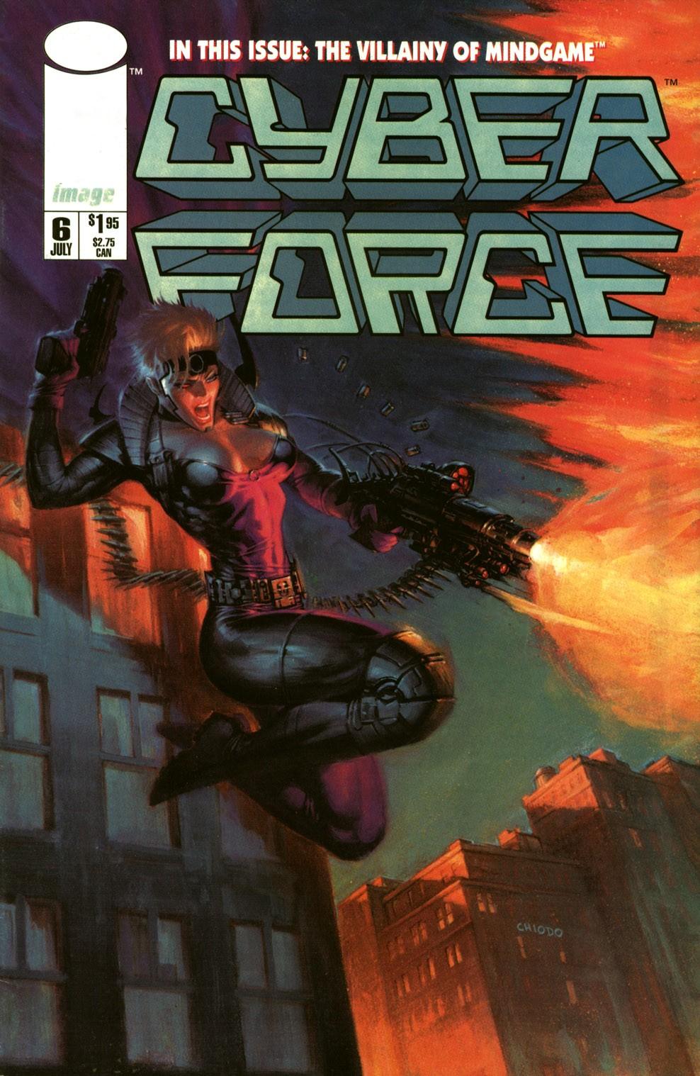 Cyberforce (1993) 6 Page 1