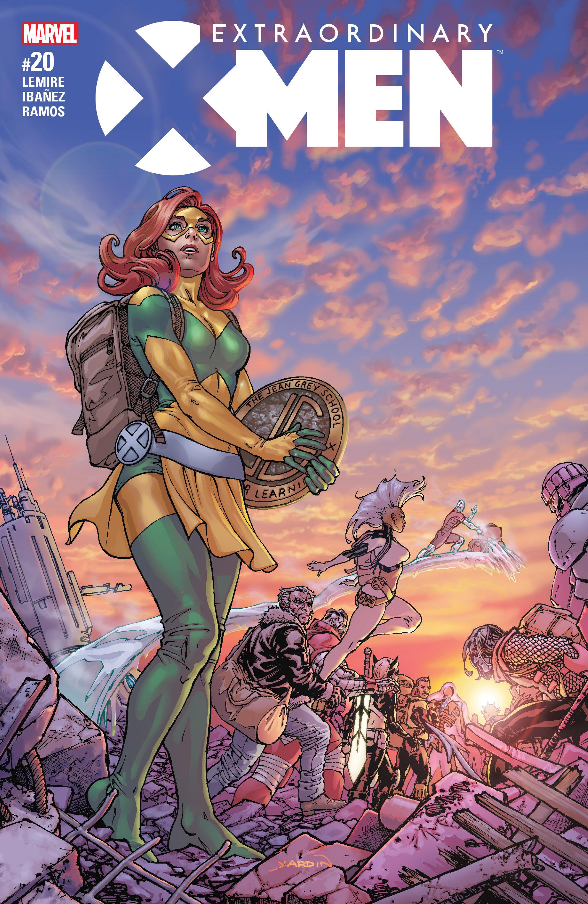 Extraordinary X-Men 20 Page 1