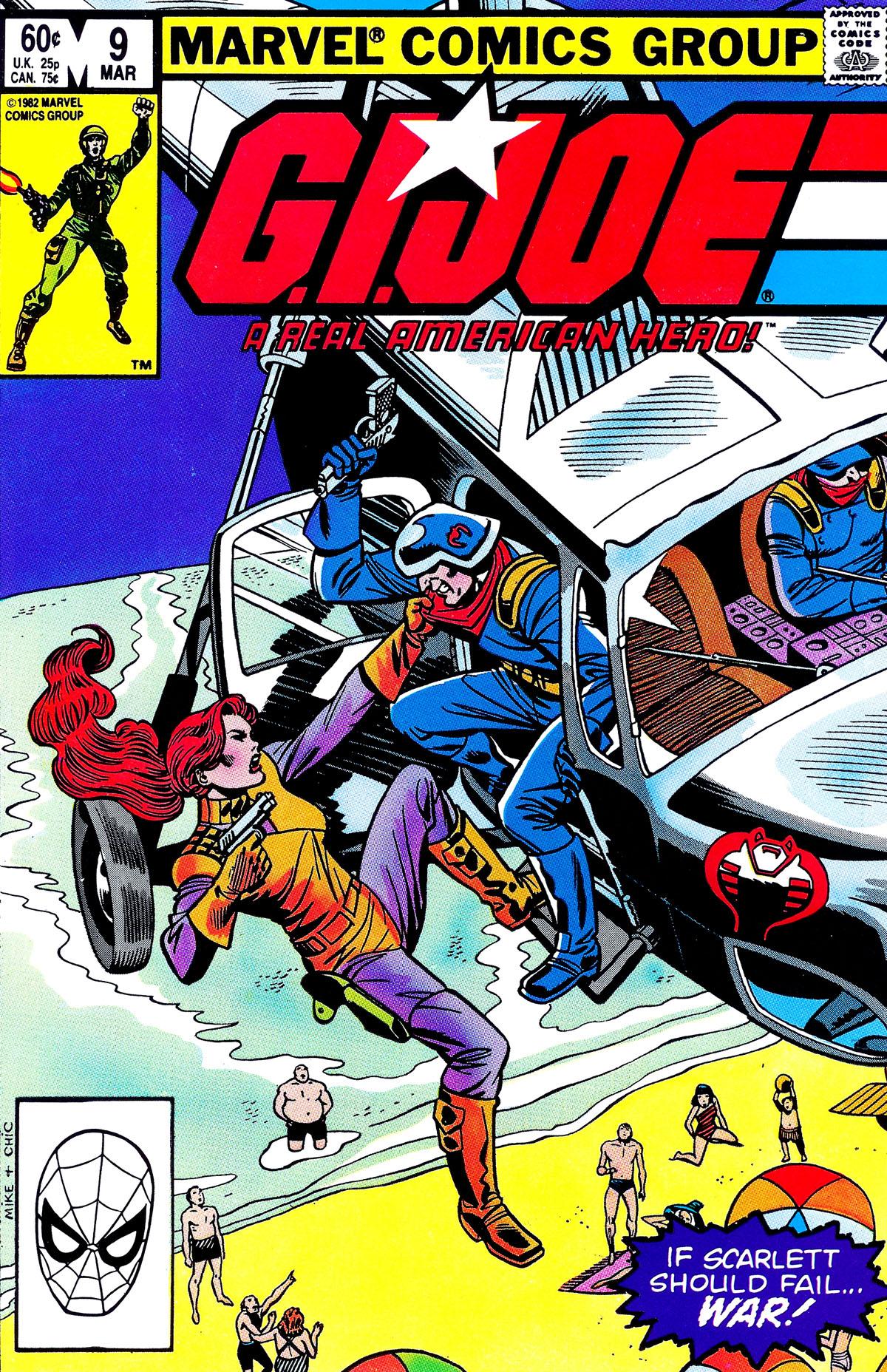 G.I. Joe: A Real American Hero 9 Page 1