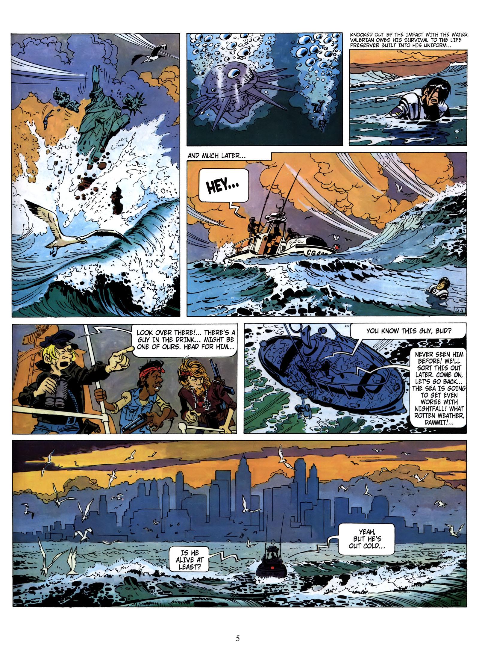 Valerian and Laureline #1 #23 - English 6