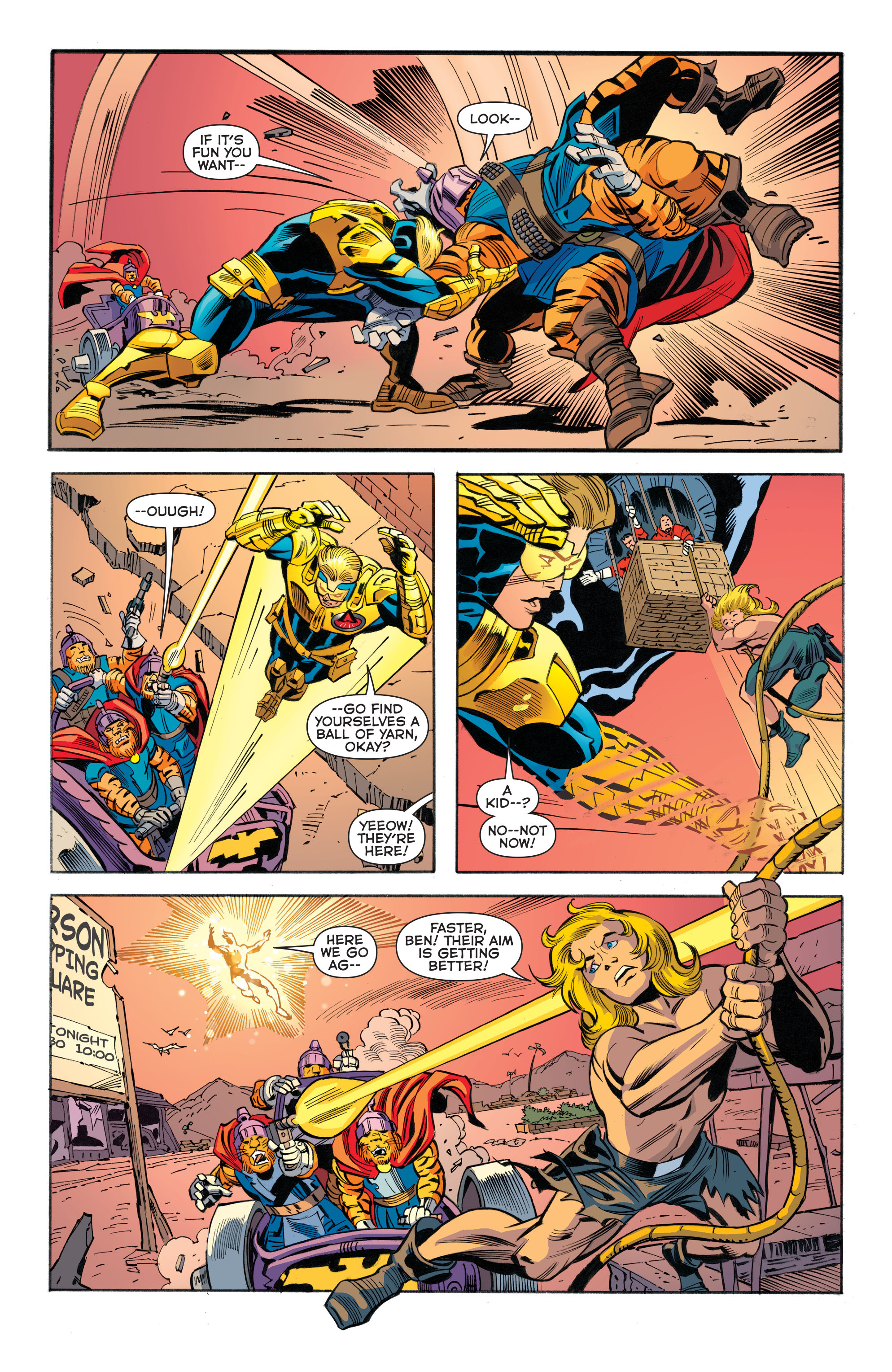 Read online Booster Gold: Futures End comic -  Issue # Full - 15