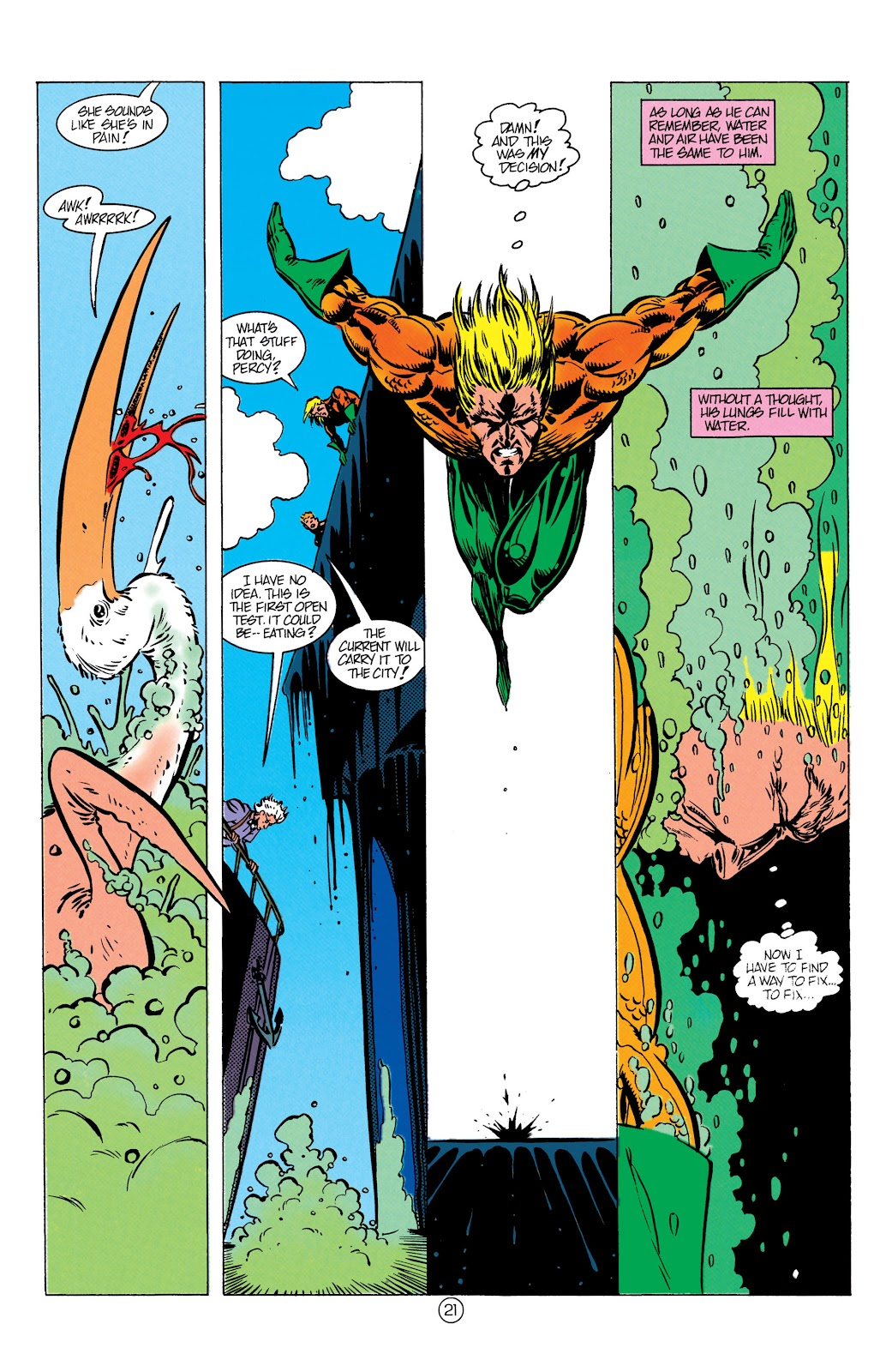 Aquaman (1991) Issue #9 #9 - English 22