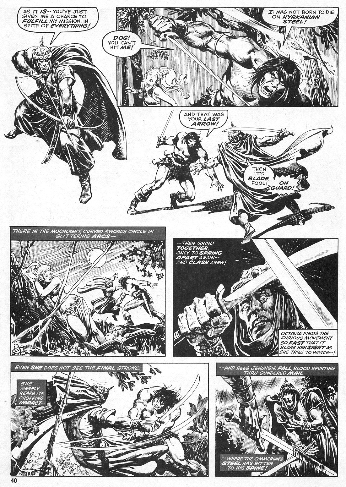 The Savage Sword Of Conan Issue #15 #16 - English 40