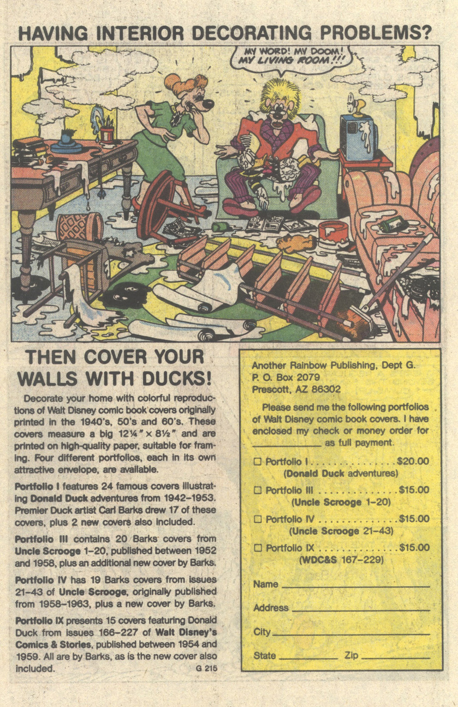 Uncle Scrooge (1953) Issue #217 #217 - English 26