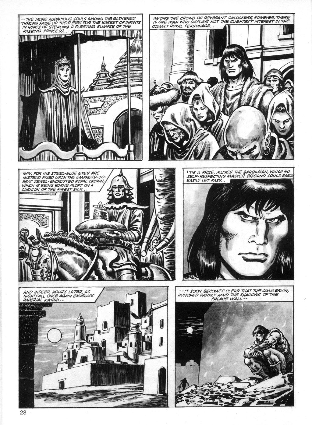 The Savage Sword Of Conan Issue #95 #96 - English 28