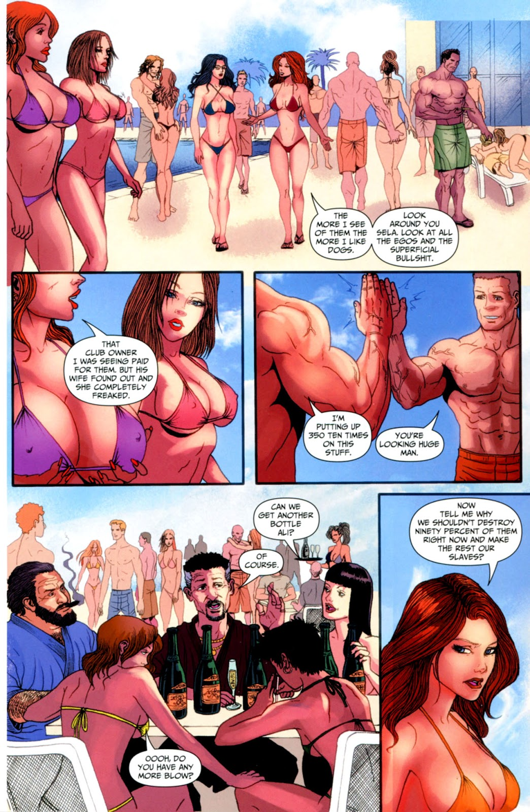 Grimm Fairy Tales: Swimsuit Edition Full #1 - English 31