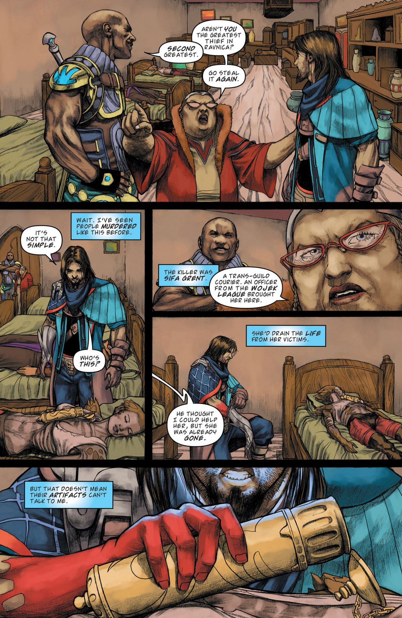 Read online Magic: The Gathering--Path of Vengeance comic -  Issue #1 - 10