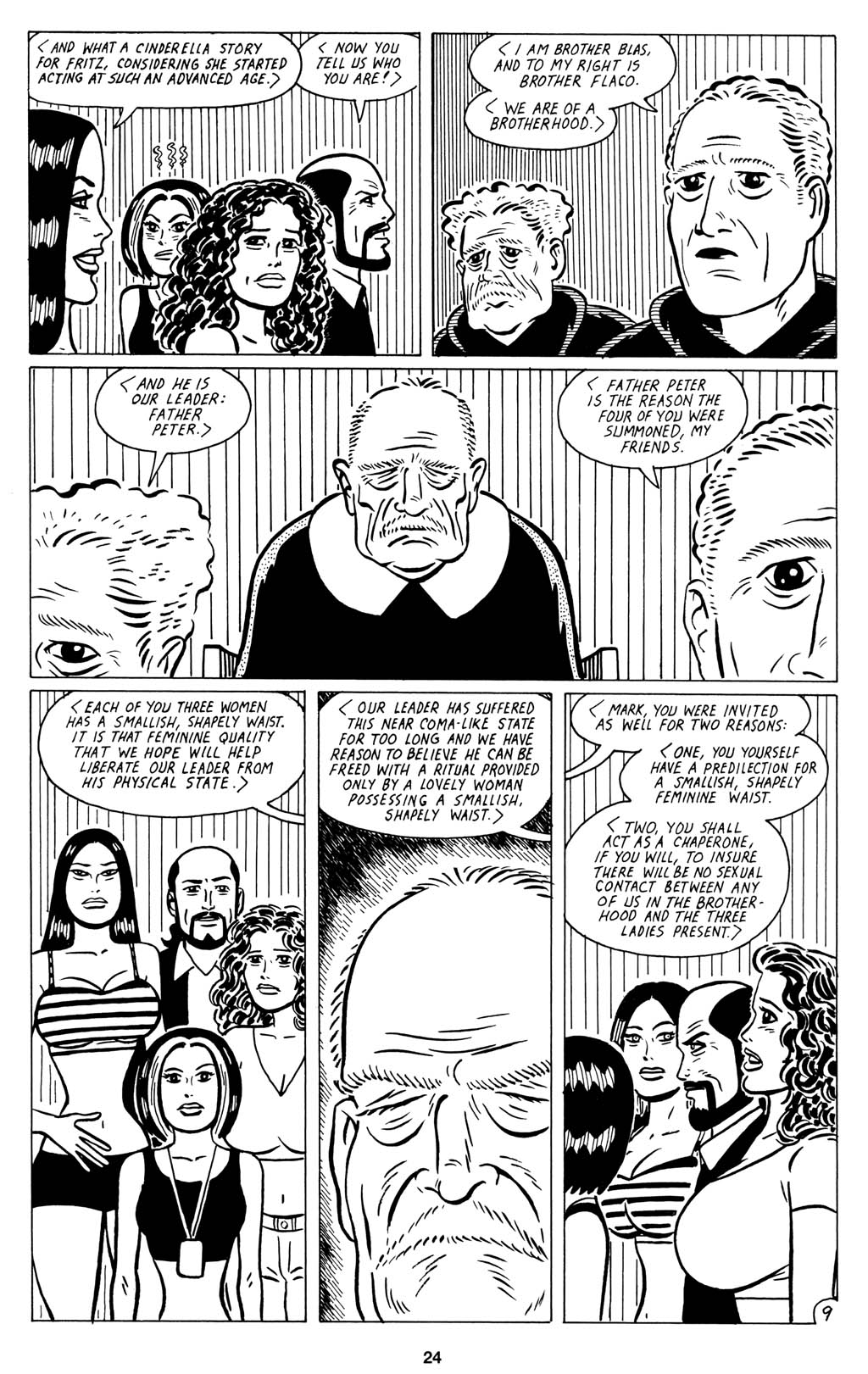 Read online Love and Rockets (2001) comic -  Issue #15 - 26