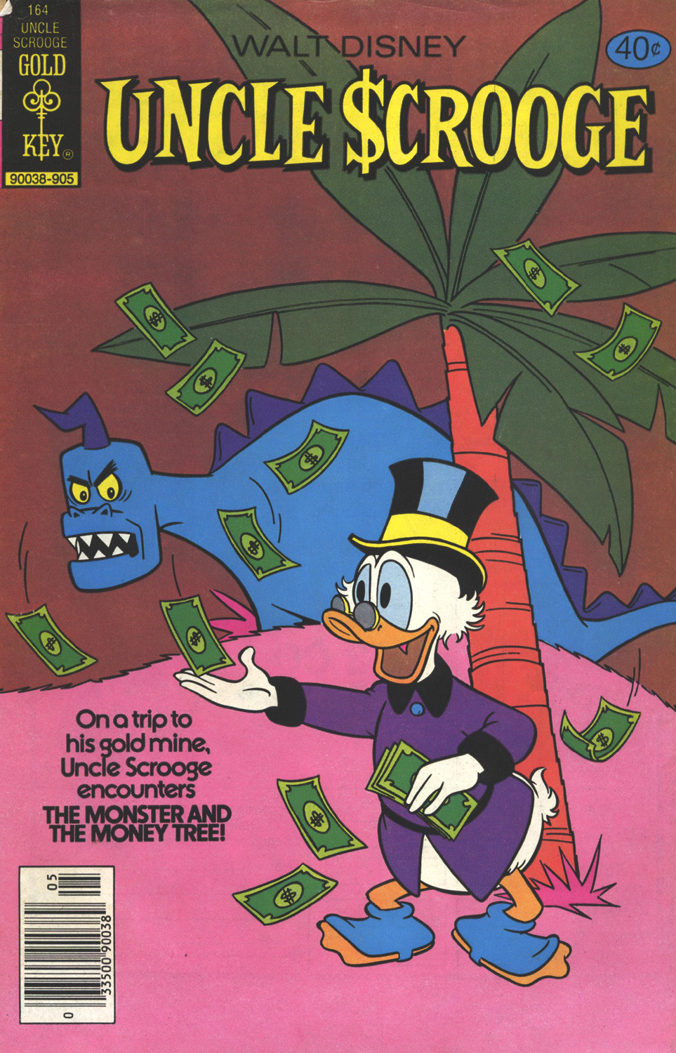 Uncle Scrooge (1953) Issue #164 #164 - English 1
