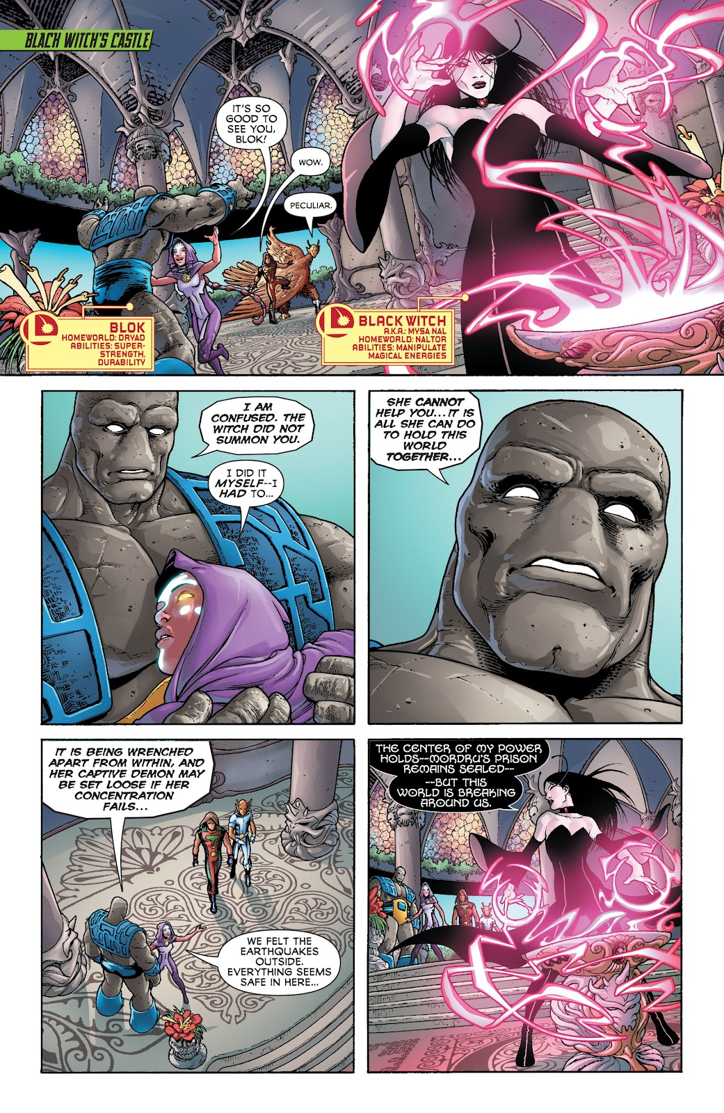 Legion of Super-Heroes (2011) Issue #20 #21 - English 7