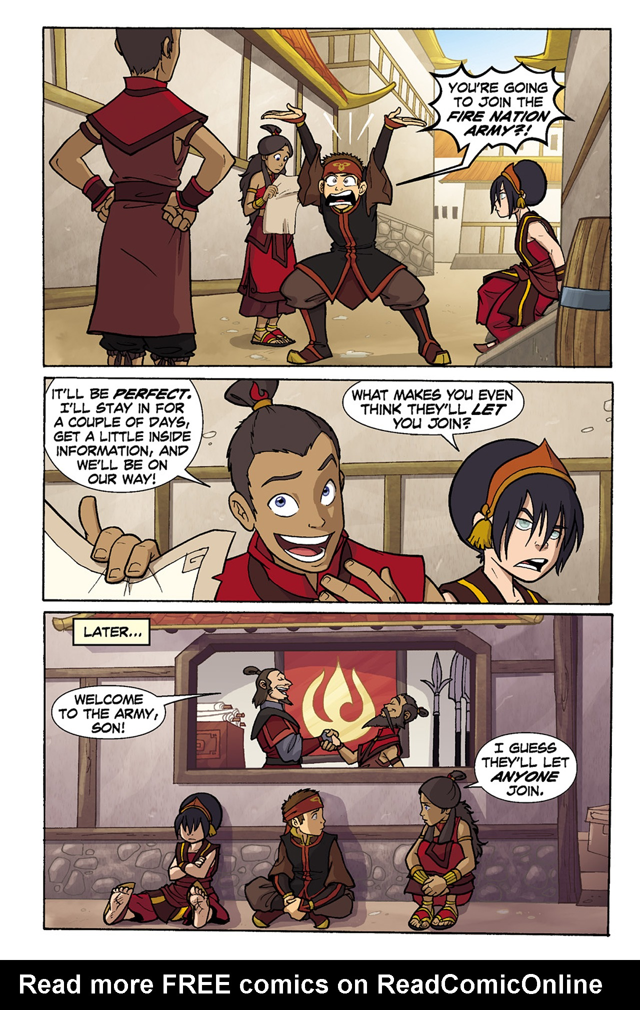 Nickelodeon Avatar: The Last Airbender - The Lost Adventures chap full pic 122