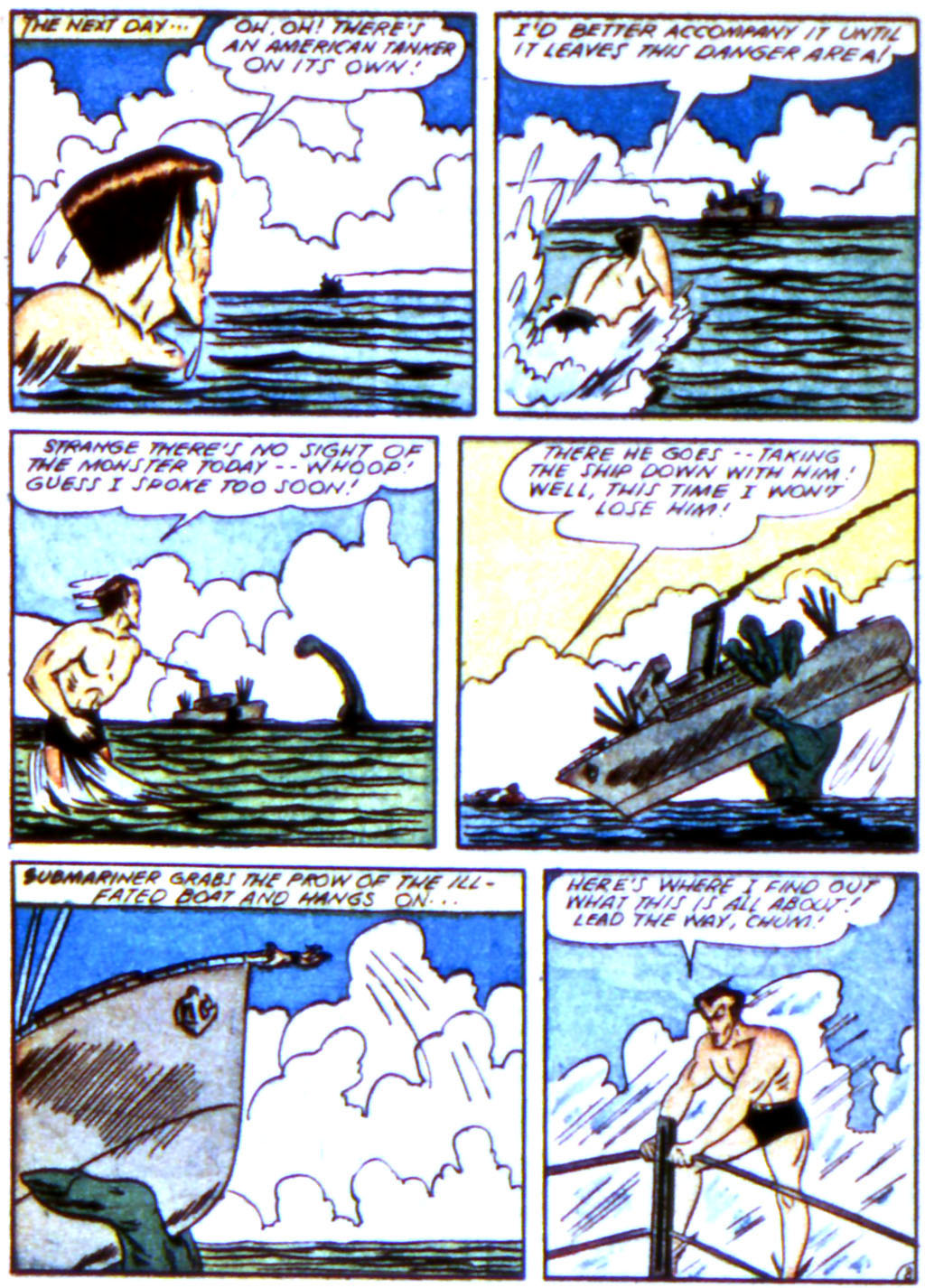 Sub-Mariner Comics Issue #12 #12 - English 22