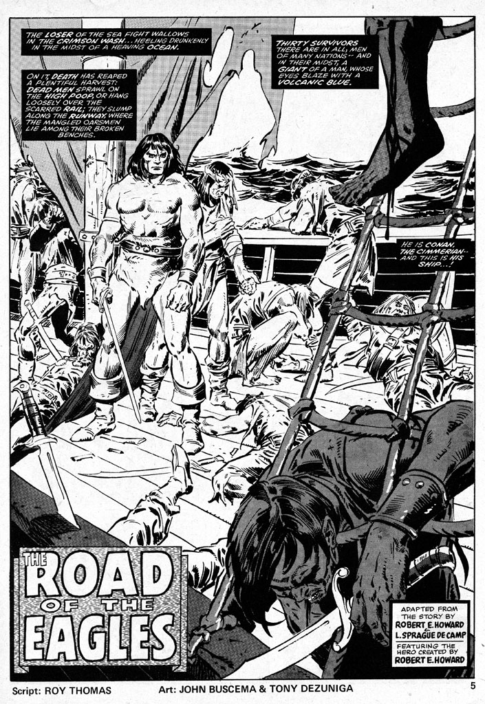 The Savage Sword Of Conan Issue #38 #39 - English 5
