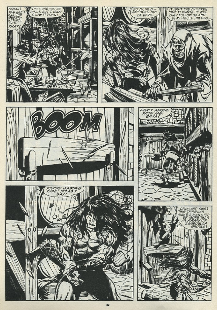 The Savage Sword Of Conan Issue #185 #186 - English 34