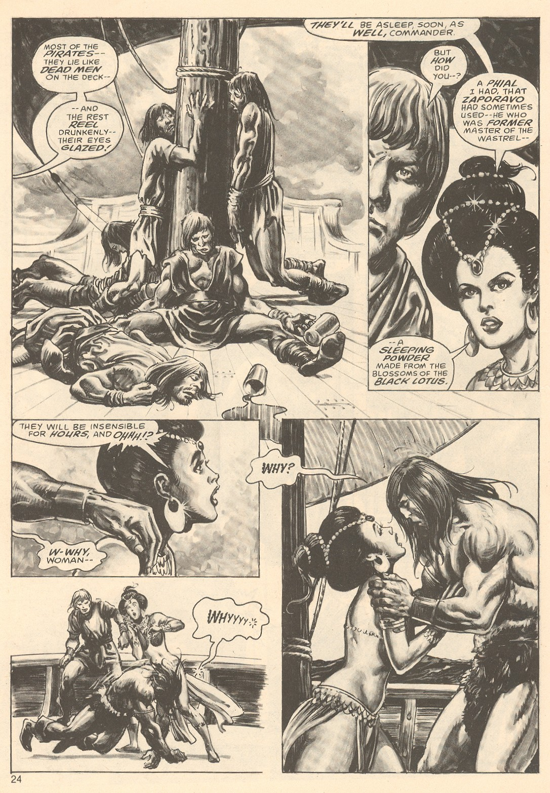 The Savage Sword Of Conan Issue #67 #68 - English 24