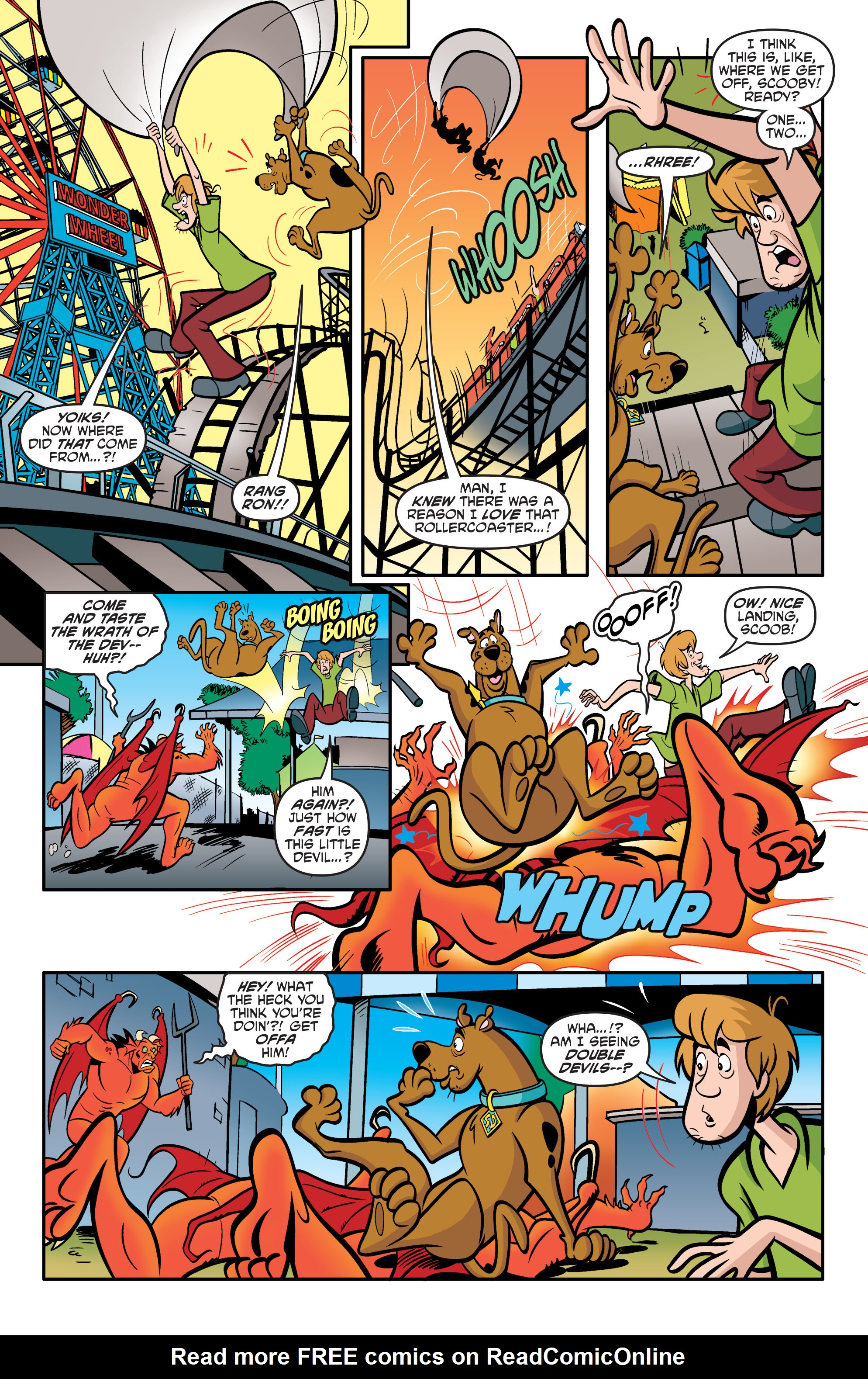 Read online Scooby-Doo: Where Are You? comic -  Issue #54 - 20