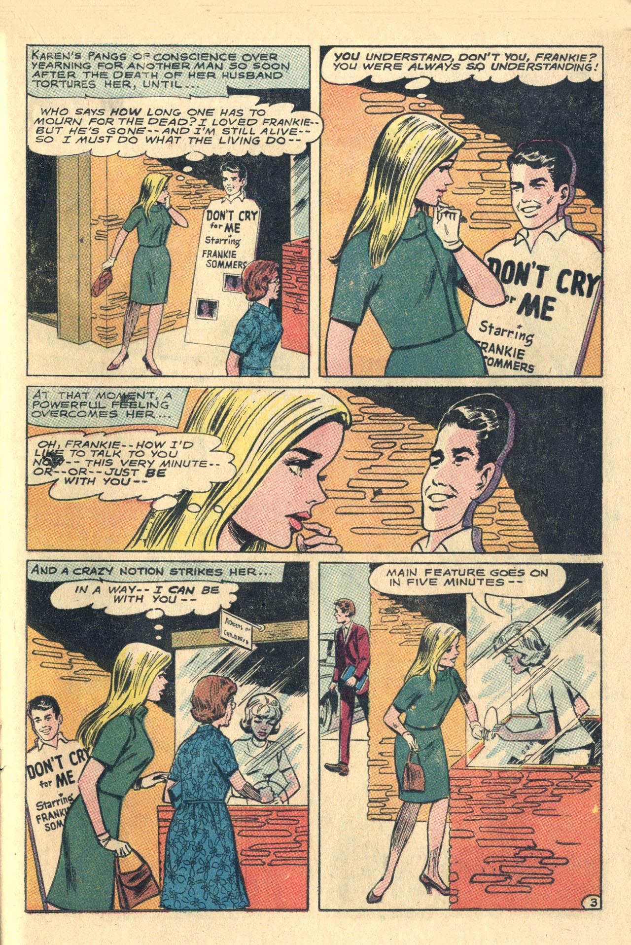 Read online Secret Hearts comic -  Issue #116 - 21