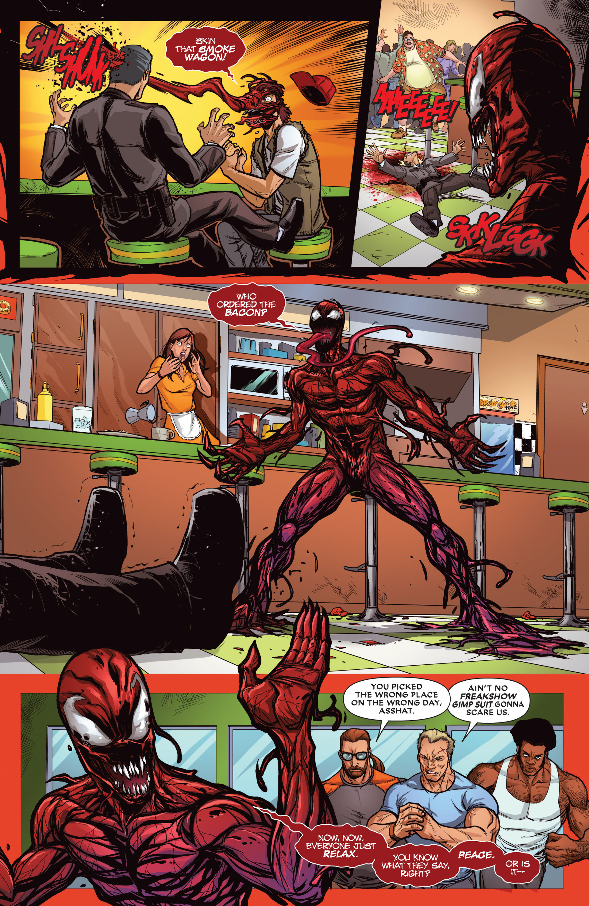 Read online Deadpool vs. Carnage comic -  Issue #1 - 4