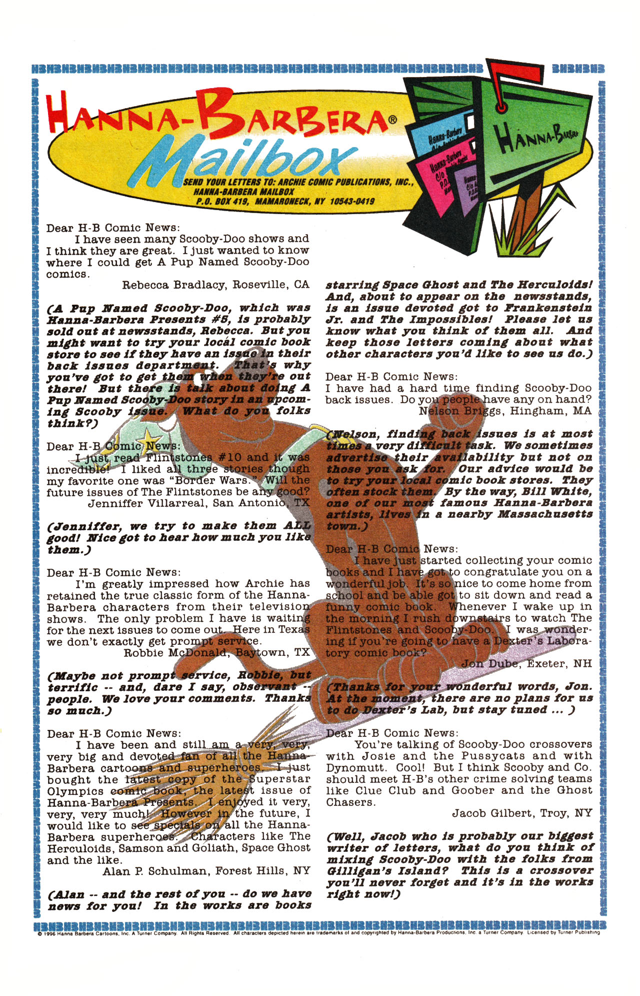 Read online Scooby-Doo (1995) comic -  Issue #15 - 20