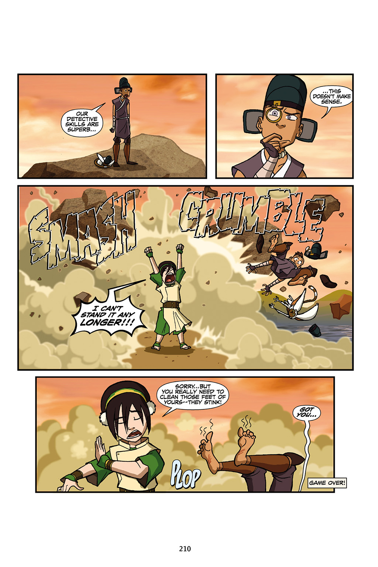Nickelodeon Avatar: The Last Airbender - The Lost Adventures chap full pic 211