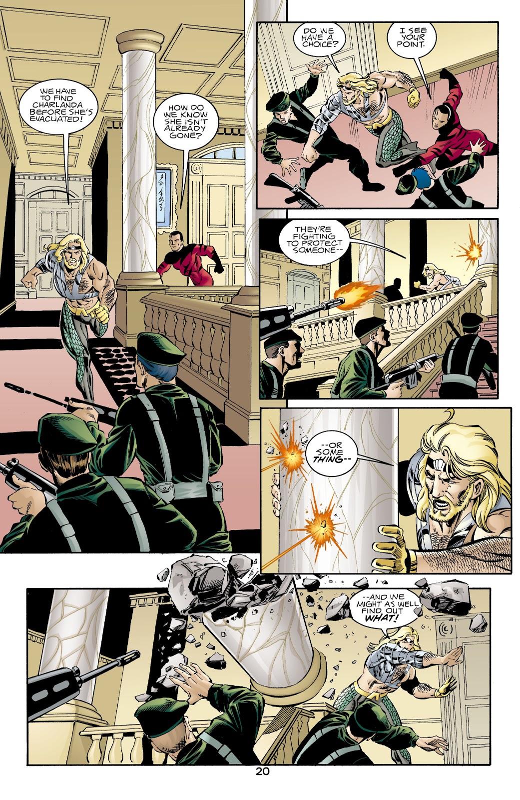 Aquaman (1994) Issue #66 #72 - English 20