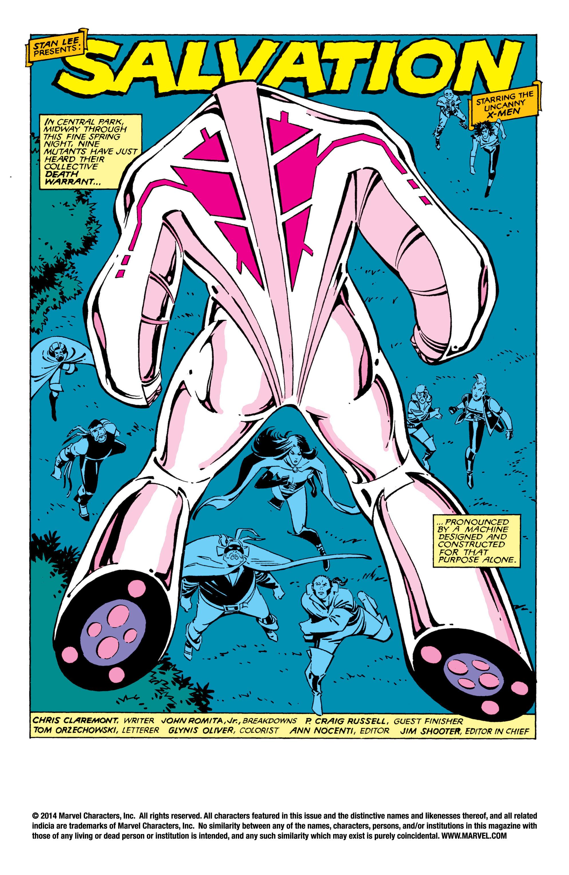 Uncanny X-Men (1963) 209 Page 1