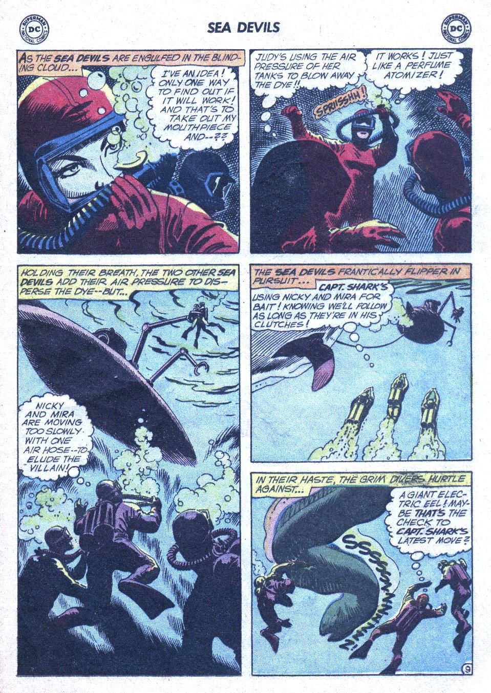Read online Sea Devils comic -  Issue #1 - 30