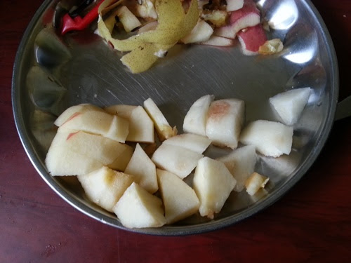 how to make pureed apple for baby