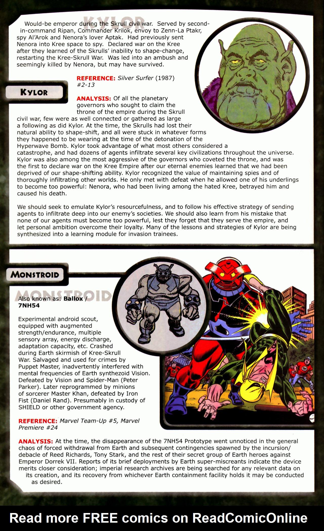 Read online Skrulls! comic -  Issue # Full - 30