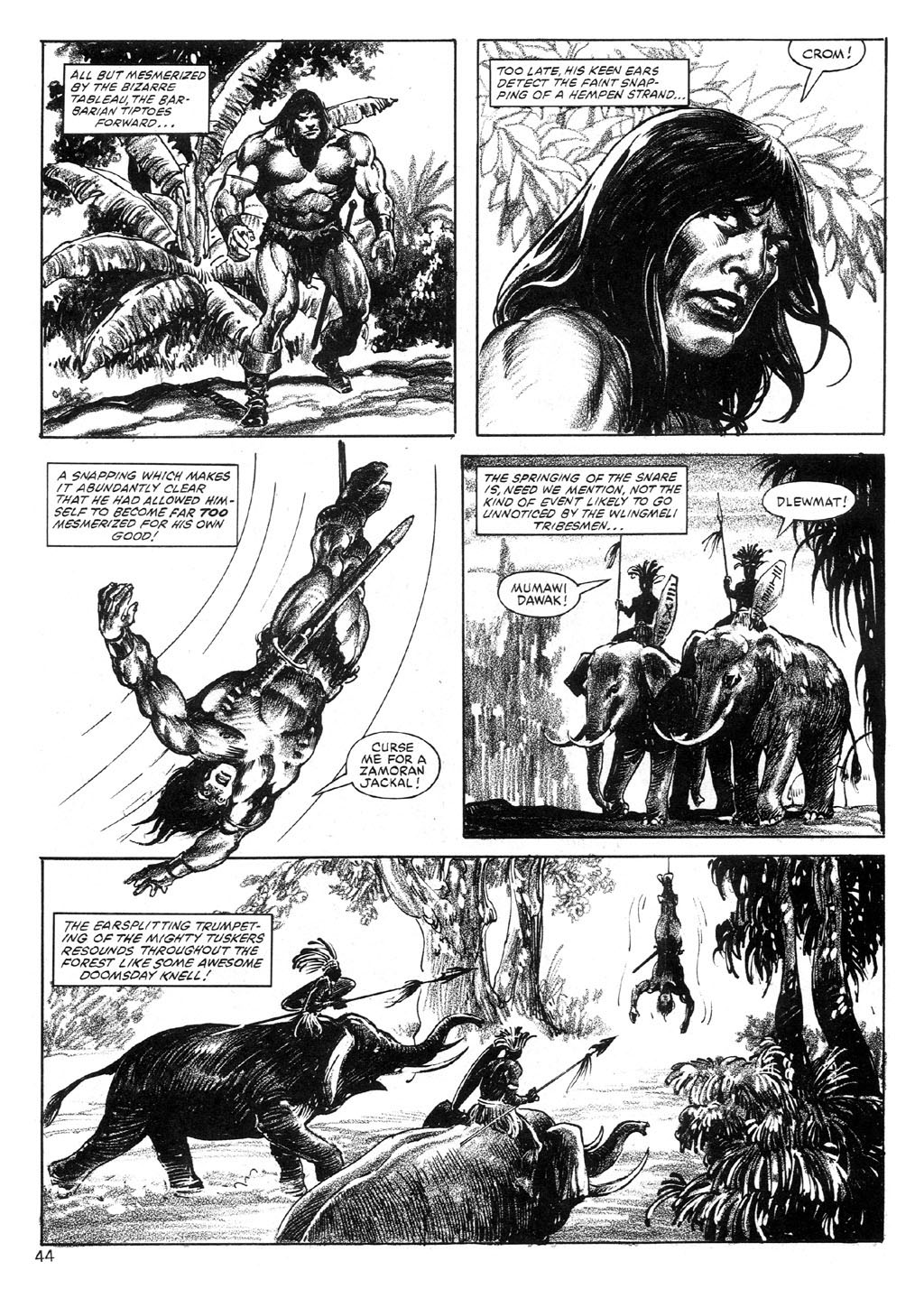 The Savage Sword Of Conan Issue #89 #90 - English 43