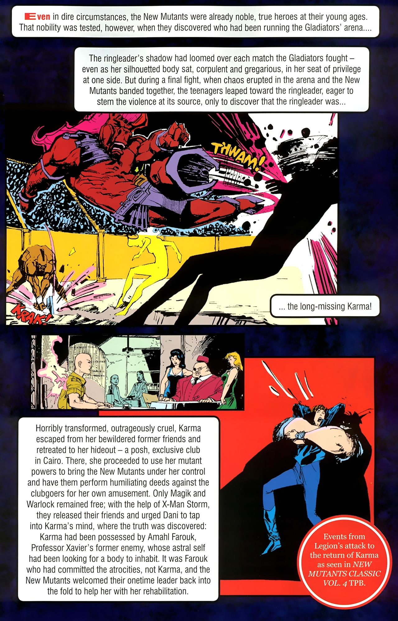Read online New Mutants Saga comic -  Issue # Full - 21