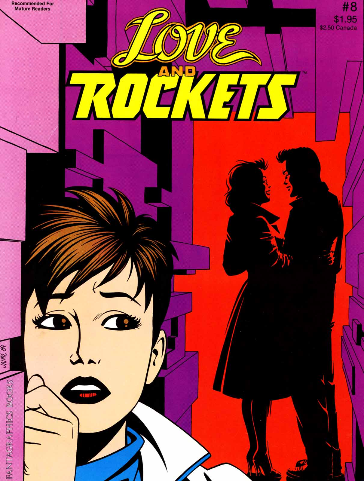 Love and Rockets (1982) Issue #8 #7 - English 1