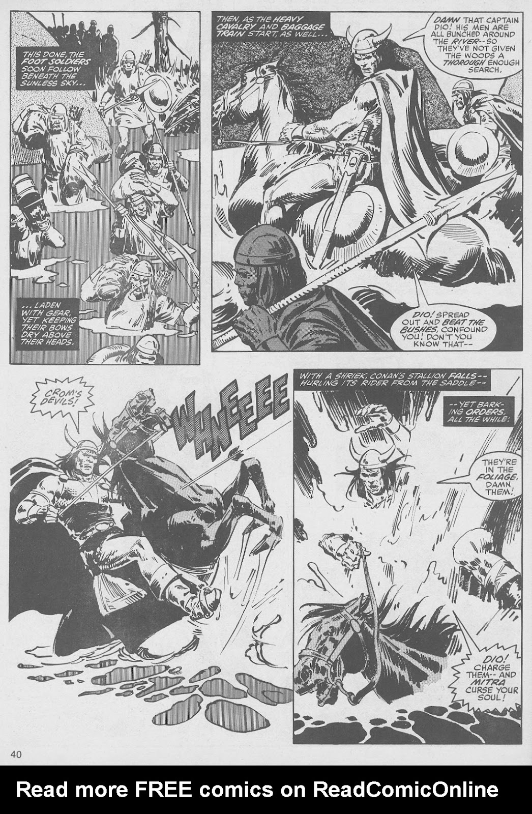 The Savage Sword Of Conan Issue #49 #50 - English 40