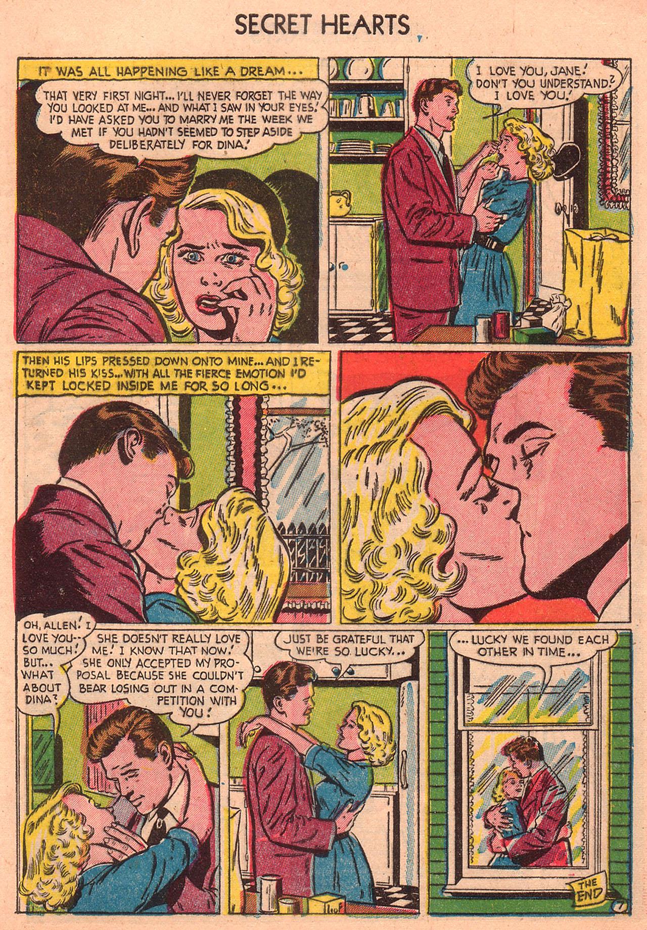 Read online Secret Hearts comic -  Issue #23 - 9
