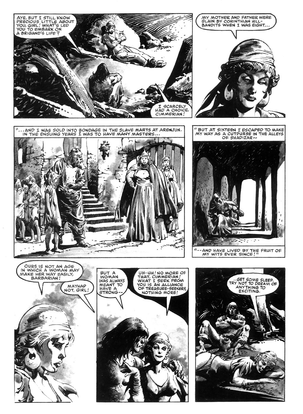 The Savage Sword Of Conan Issue #98 #99 - English 22