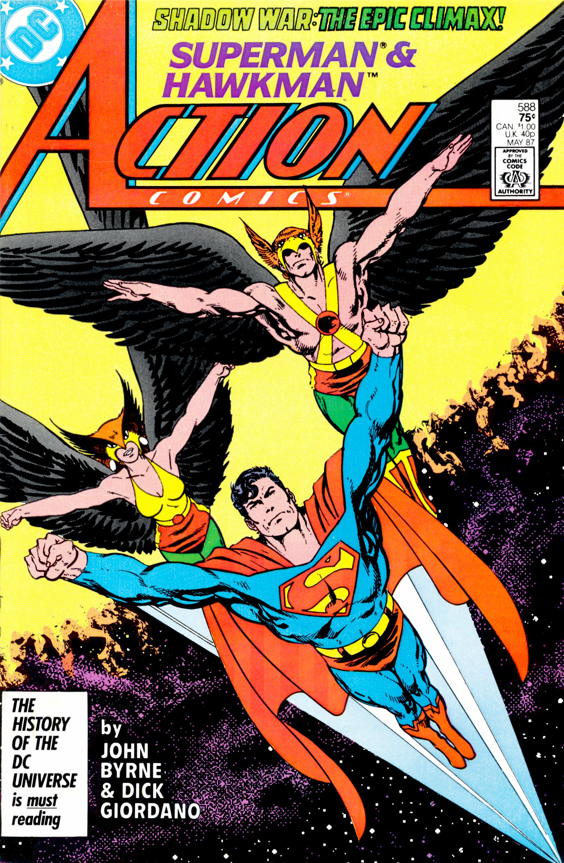 Action Comics (1938) 588 Page 1