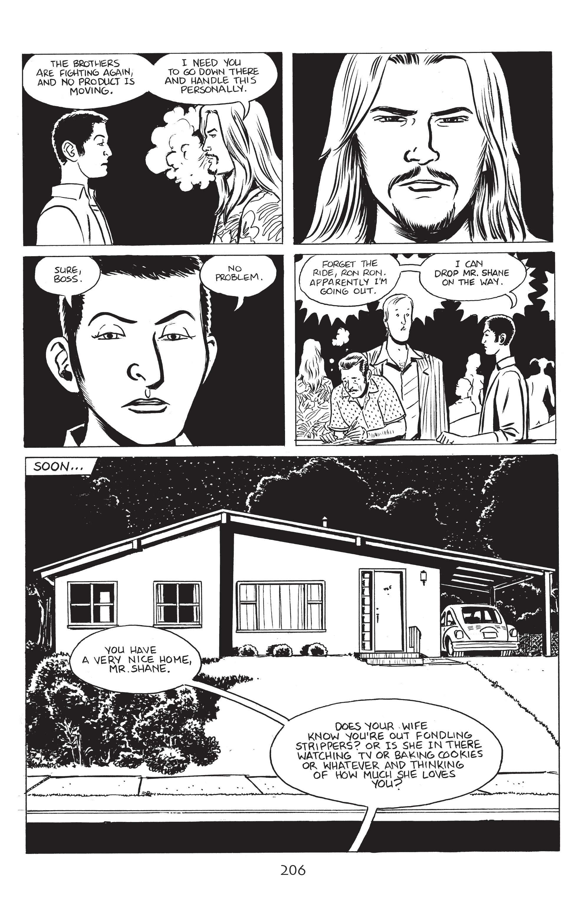 Read online Stray Bullets: Sunshine & Roses comic -  Issue #8 - 12