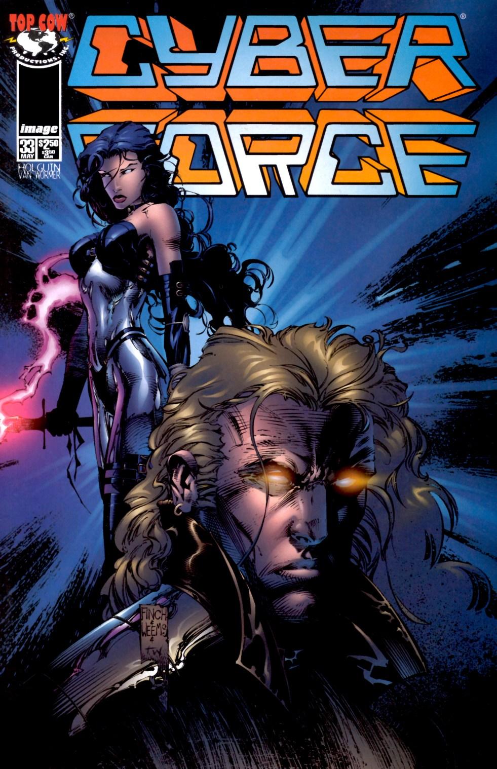 Cyberforce (1993) 33 Page 1