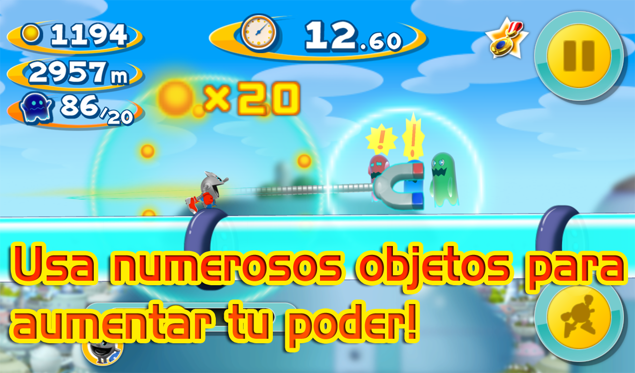 Descargar PAC MAN DASH! v1.00 Mod APK Android Full Gratis (Gratis)