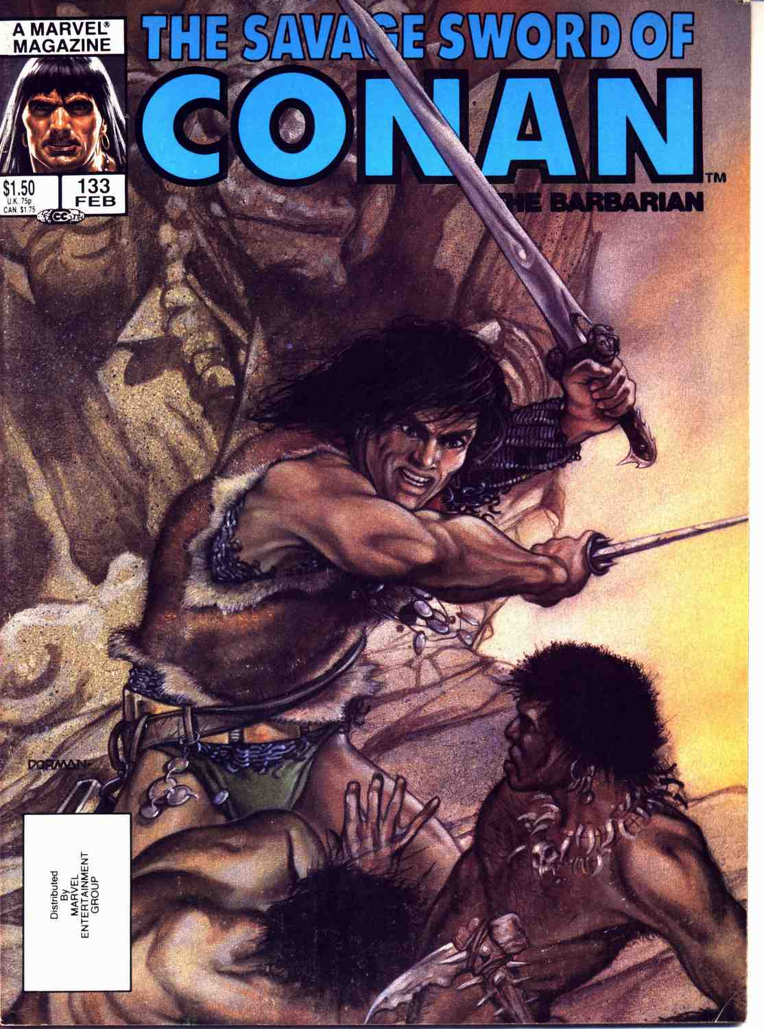 The Savage Sword Of Conan Issue #133 #134 - English 1