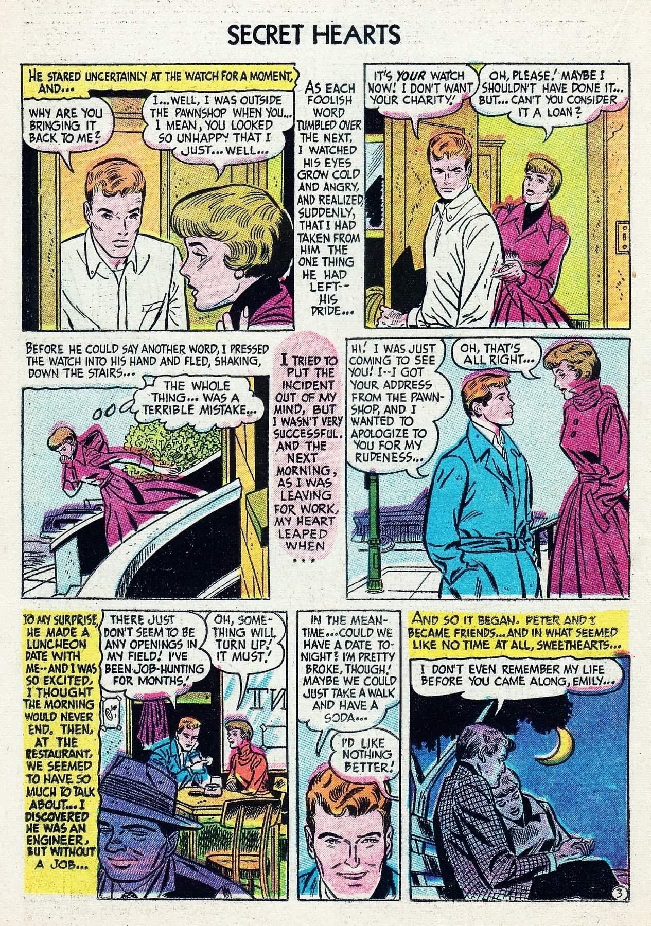 Read online Secret Hearts comic -  Issue #29 - 20