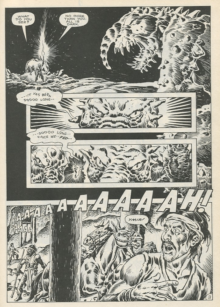 The Savage Sword Of Conan Issue #141 #142 - English 9