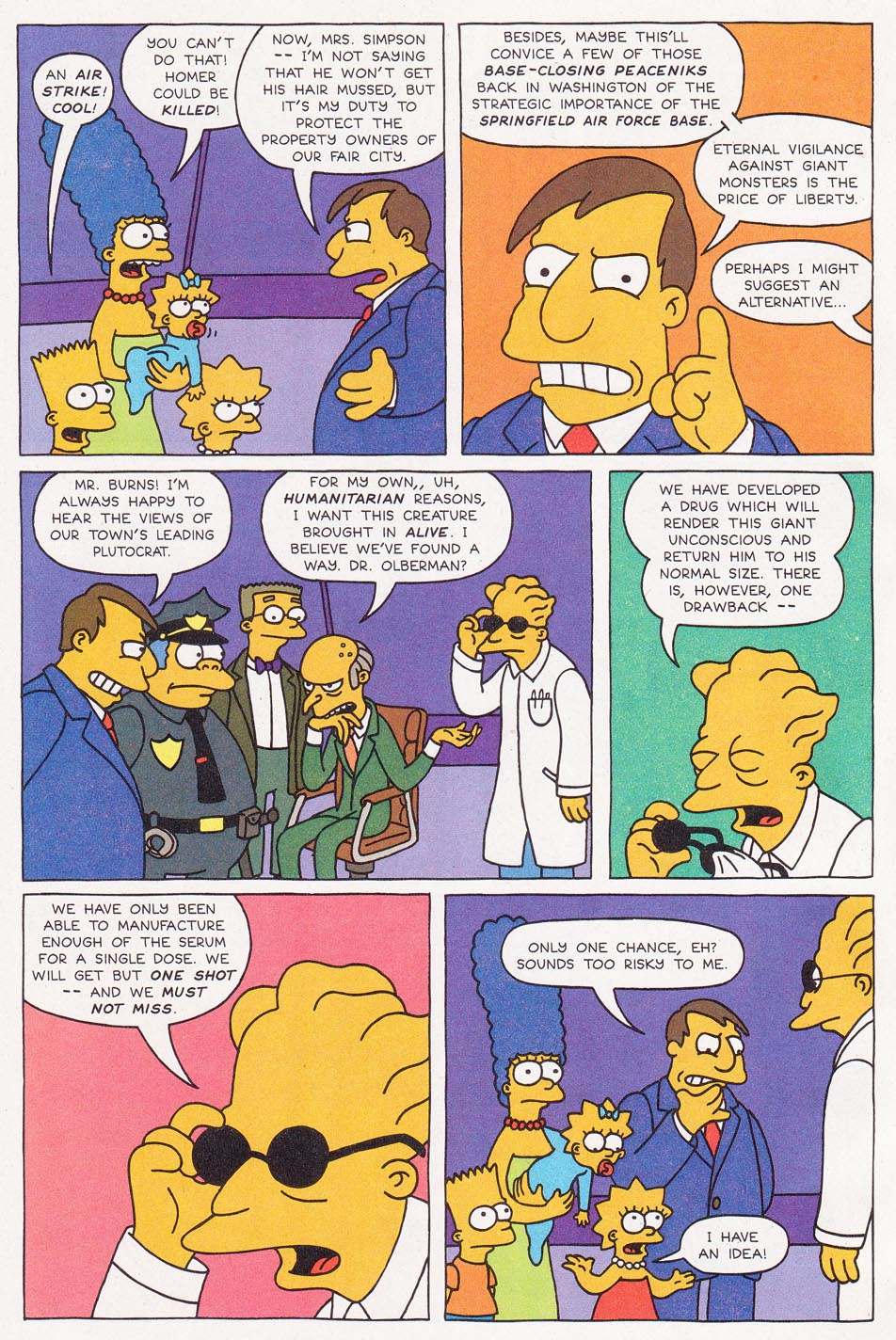 Read online Simpsons Comics comic -  Issue #1 - 20