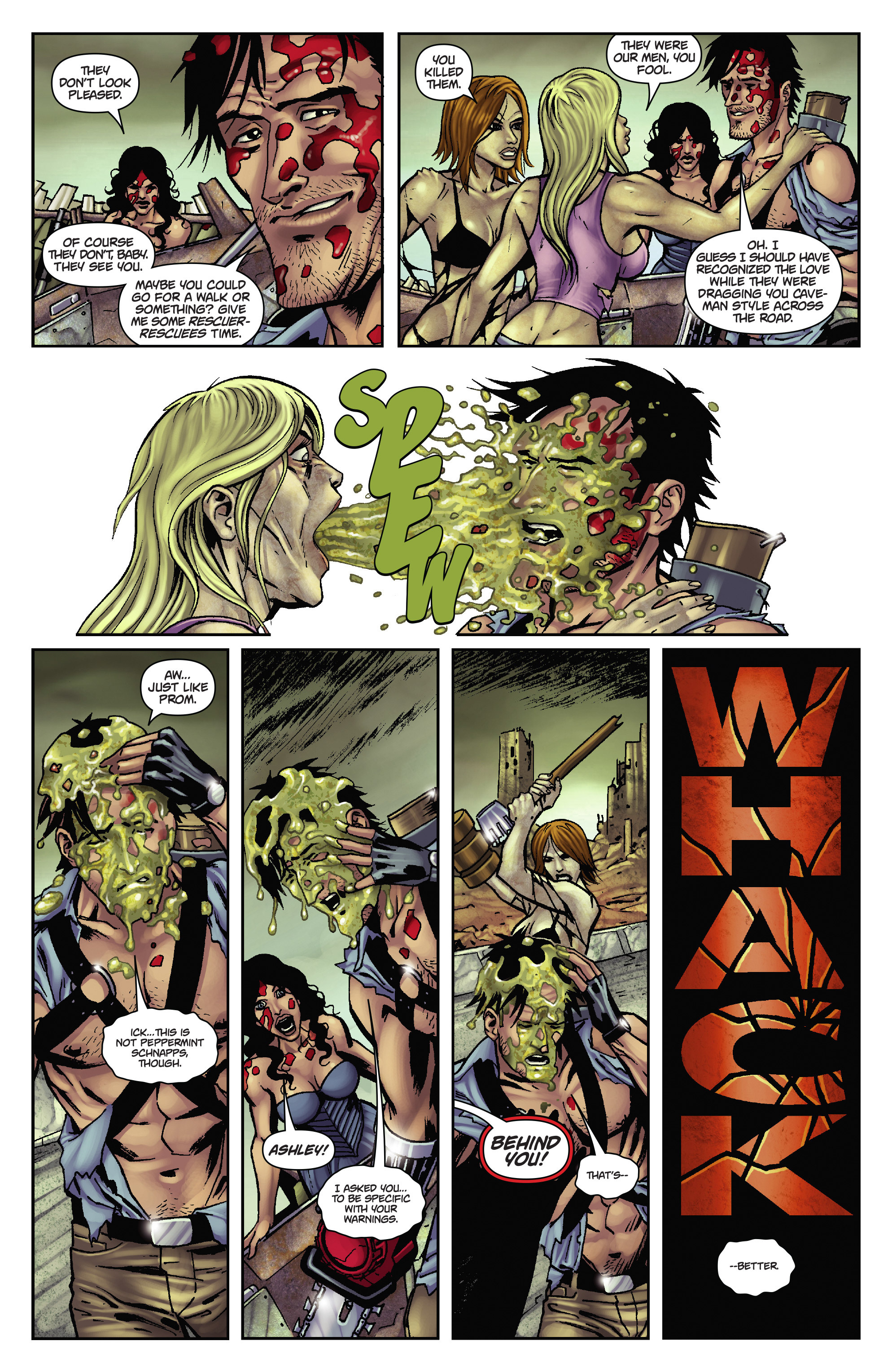 Army of Darkness: The Long Road Home TPB Page 37